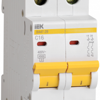 Автоматический выключатель ВА47-29 2Р 4А 4,5кА х-ка D IEK