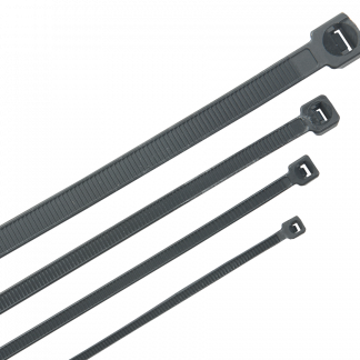 Хомут кабельный морозостойкий Хкм 4,8х300мм черный (100шт) IEK