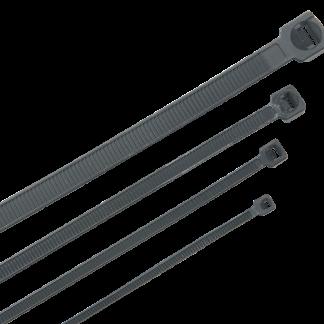 Хомут кабельный морозостойкий Хкм 7,6х380мм черный (100шт) IEK