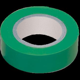 Изолента 0,13х15мм зеленая 10м IEK
