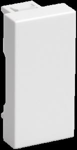 Заглушка ЗК-00-01-П на 1 модуль белая IEK