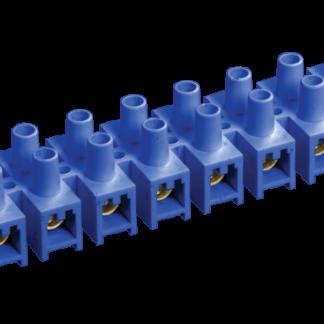 Зажим контактный винтовой ЗВИ-10 н/г 2,5-6мм2 синий (2шт/блистер) IEK