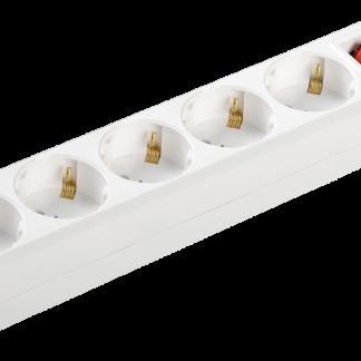 Удлинитель У05К-выкл. 5 мест 2Р+PЕ/5метров 3х1мм2 16А/250 IEK