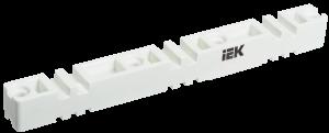 Изолятор шинный плоский ИШП 3P для шин 5мм и 10мм 370мм IEK