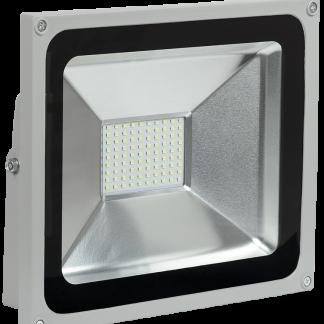 Прожектор светодиодный СДО 05-50 SMD IP65 серый IEK