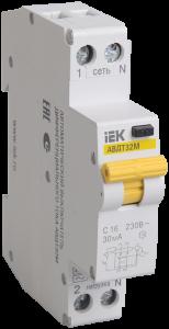 Автоматический выключатель дифференциального тока АВДТ32М С25 30мА IEK