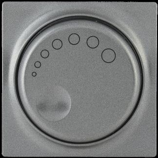 Накладка к светорегулятору НС-1-1-БА BOLERO антрацит IEK