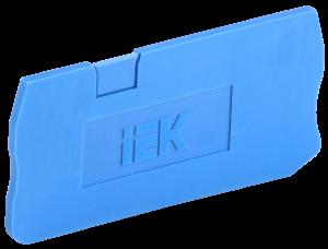 Заглушка для КПИ 3в-1,5/2,5 3 вывода синяя IEK