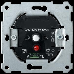 Светорегулятор поворотный СС10-1-1-Б с индикацией 600Вт BOLERO IEK