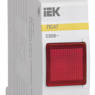 Сигнальная лампа ЛС-47 (красная) (неон) IEK
