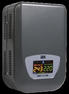 Стабилизатор напряжения настенный серии Shift 3,5 кВА IEK
