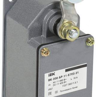 Выключатель концевой ВК-200-БР-11-67У2-21 IP67 IEK