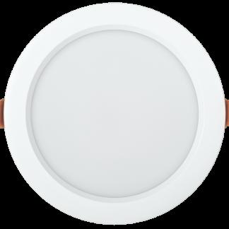 Светильник светодиодный ДВО 1821 PRO круг 24Вт 4000K IP54 белый IEK