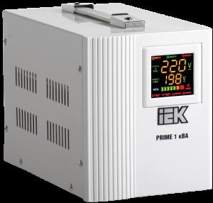 Стабилизатор напряжения переносной серии Prime 1 кВА IEK