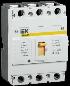 Автоматический выключатель ВА44-35 3Р 250А 25кА IEK