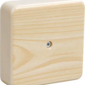 Коробка распаячная КМ для о/п 75х75х28мм сосна IEK