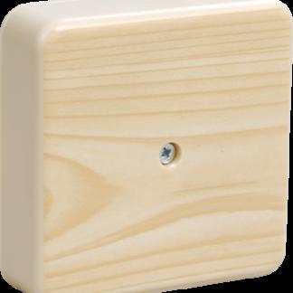 Коробка распаячная КМ41212-04 для о/п 75х75х20мм сосна (6 клемм 6мм2) IEK