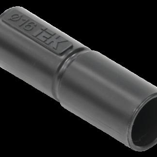 Муфта труба-труба GI16G черная IEK