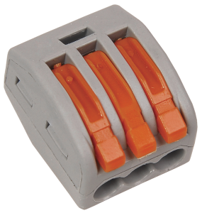 Строительно-монтажная клемма СМК 222-413 (4шт/упак) IEK