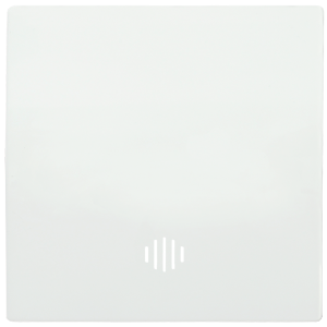 Накладка 1 клавиша с индикацией HB-1-1-ББ BOLERO белый IEK
