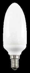Лампа энергосберегающая КЭЛ-C свеча Е27 11Вт 4200К IEK