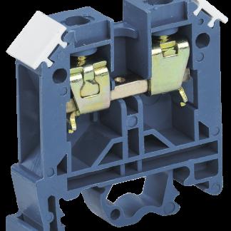 Зажим наборный ЗНИ-10мм2 (JXB70А) синий IEK
