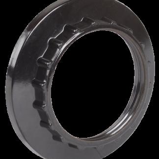Кольцо к патрону Е27 бакелит черный (индивидуальный пакет) IEK