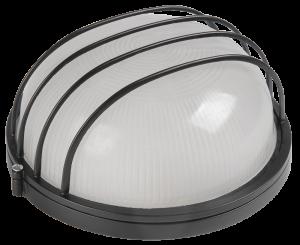 Светильник НПП1106 круг сетка 100Вт IP54 белый IEK