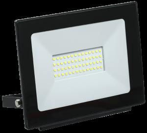 Прожектор светодиодный СДО 06-50 IP65 6500K черный IEK