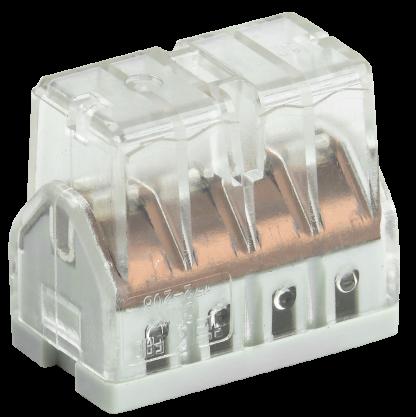 Строительно-монтажная клемма СМК 772-208 компактная (4шт/упак) IEK