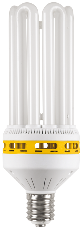 Лампа энергосберегающая КЭЛ-6U Е40 105Вт 6500К IEK