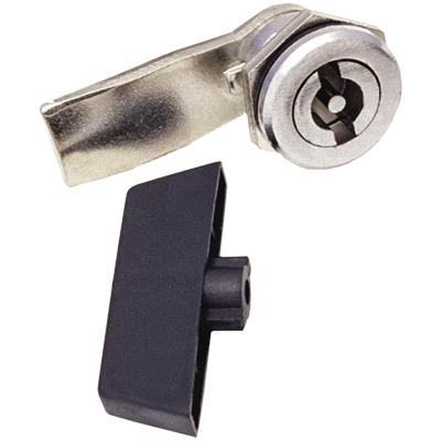 Замок-защелка для металлического бокса с пластмассовым ключом (22-17/46) IEK