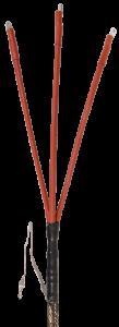 Муфта кабельная КВтп-10 3х35/50 б/н ППД бумажная изоляция IEK