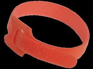 Хомут-липучка ХКл 14х210мм красный (100шт) IEK
