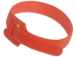 Хомут-липучка ХКл 14х310мм красный (100шт) IEK