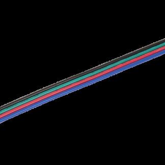Коннектор 5шт RGB 10мм (15см-разъем) IEK