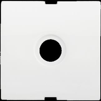Накладка телевизионная проходная/оконечная НTV-1-ББ BOLERO белый IEK