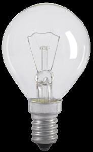 Лампа накаливания G45 шар прозрачная 60Вт E14 IEK