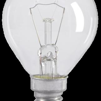 Лампа накаливания G45 шар прозрачная 40Вт E14 IEK