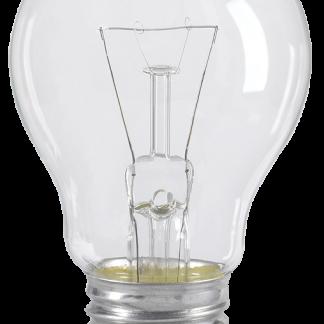 Лампа накаливания A55 шар прозрачная 75Вт E27 IEK