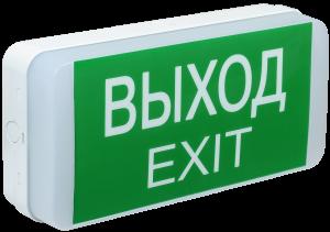 Светильник аварийный ДПА 5031-1 постоянного/непостоянного действия 24м 1ч IP20 IEK