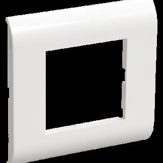 Рамка для КМКУ на 2 модуля белая IEK