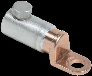 Медно-алюминиевый механический наконечник со срывными болтами АММН 50-95 до 1кВ IEK