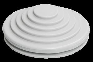 Сальник d=20мм (Dотв.бокса 22мм) серый IEK