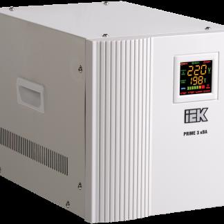 Стабилизатор напряжения переносной серии Prime 3 кВА IEK