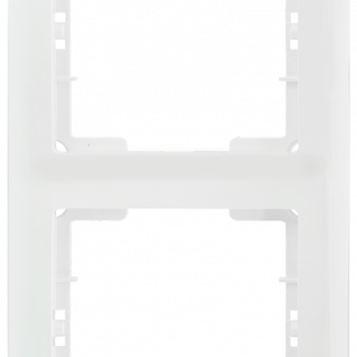 Рамка 2-местная вертикальная РB-2-ББ BOLERO белый IEK