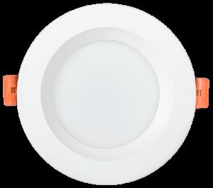 Светильник светодиодный ДВО 1801 PRO круг 10Вт 3000K IP40 белый IEK