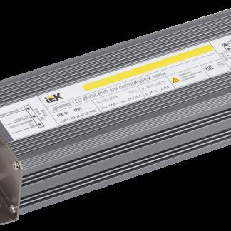 Драйвер LED ИПСН-PRO 100Вт 12В блок-шнуры IP67 IEK