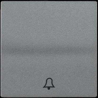 Накладка 1 клавиша для кнопочного звонка HB-1-4-БА BOLERO антрацит IEK