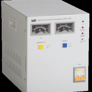 Стабилизатор напряжения СНИ1-5 кВА однофазный IEK